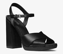 Sandale Alexia aus Satin