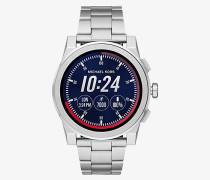 Smartwatch Grayson im Silberton