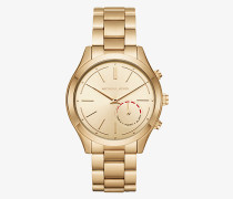 Michael Kors Access Hybrid-Smartwatch Slim Runway im Goldton