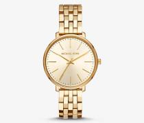 Armbanduhr Pyper im Goldton