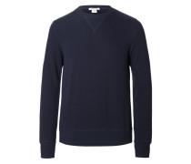 LS Crew Sweater Cashmere Navy