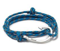 Silver Tone Hook Rope Caribbean