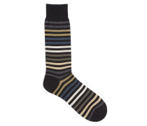 Kilburn Socks Grey/Black/Green
