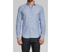 Sammy Chambray Jacquard