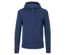 Track Hooded Top Navy Blue
