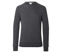LS Crew Sweater Cashmere Charcoal