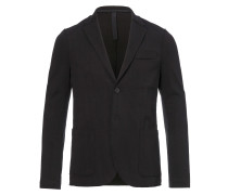 2B Blazer Creased Cotton Black