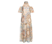 Quartz Printed Dress, Shell