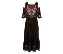 Botanist Dress, Black