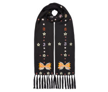 Kite Embroidered Dinner Scarf