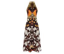 Flutter Print Midi Dress