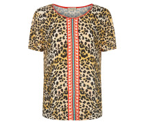 Vita Jersey Leopard Print T-shirt
