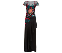Botanist Long Dress, Black