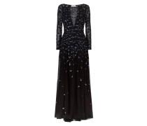 Celestial Long Dress, Black