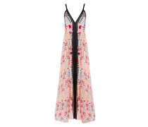 Rosy Strappy Dress