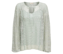 Wondering Lace Blouse, Pale Lichen Mix