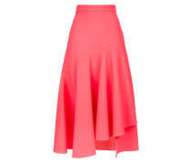 Mercury Plain Ruffle Skirt, Flamingo