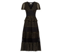 Wondering Lace Dress, Black Mix