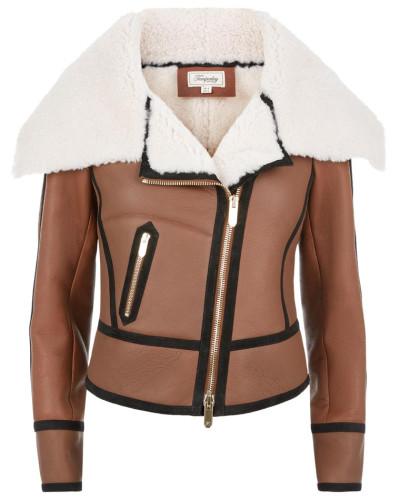 Eileen Aviator Jacket - 60% Off Sale - Sale
