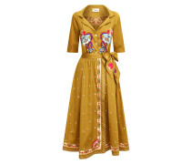 Divine Wrap Dress, Russet