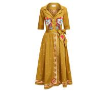 Divine Wrap Dress, Russet
