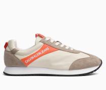 Sneakers aus Nylon und Wildleder