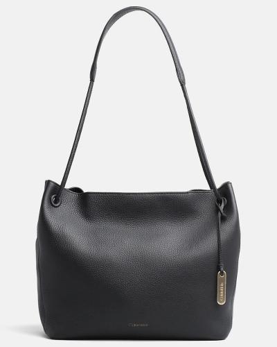 Leder-Hobo-Bag