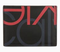 Logo-Kartenetui aus Leder