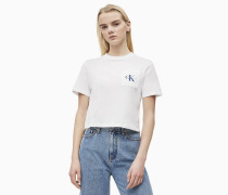 Cropped Logo-T-Shirt