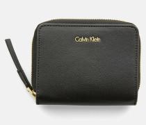 Portemonnaie mit Klappe und Rundum-Reißverschluss