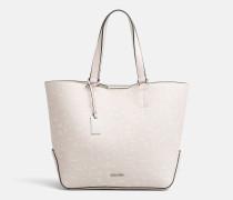 Mittelgroße bedruckte Shopper-Tasche