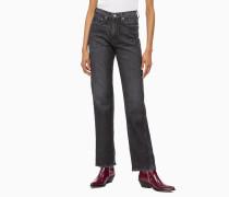CKJ 030 High Rise Straight Jeans