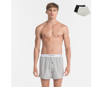 2er-Pack Slim Fit Boxershorts - Modern Cotton