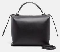 Box Satchel-Bag aus Leder