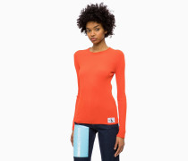 Rippstrick-Sweater aus Wollgemisch
