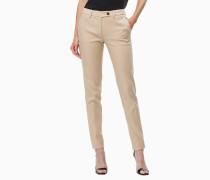 Slim Fit Hose aus Stretch-Baumwolle