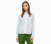 Hemd mit mehrfarbigem Streifenmuster