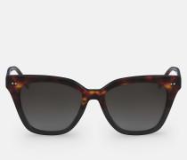 Eckige Sonnenbrille CK4359S