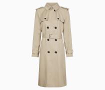Relaxter Trench Coat aus weichem Twill