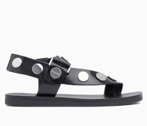 Sandalen mit Nietenbesatz