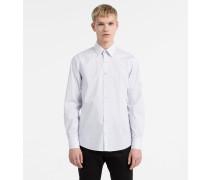 Schmales Anzughemd