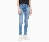 CKJ 022 Body Ankle Jeans mit bestickt