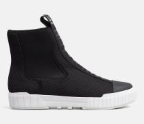 High Top Sneakers aus Mesh