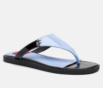Lackleder-Sandalen