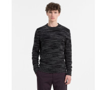 Melierter Sweater aus Mohair-Wolle