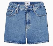High Rise Denim-Shorts