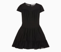 Doppellagiges Chiffon-Kleid