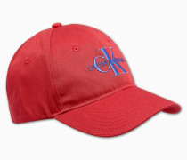 Logo-Kappe aus Baumwoll-Twill