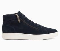 High Top Sneakers aus Wildleder