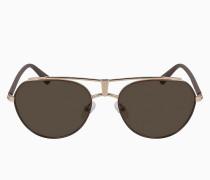 Runde Sonnenbrille CKJ19304S